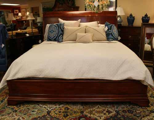 Henredon King Sleigh Bed Piece Of The Week