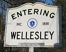Entering Wellesley