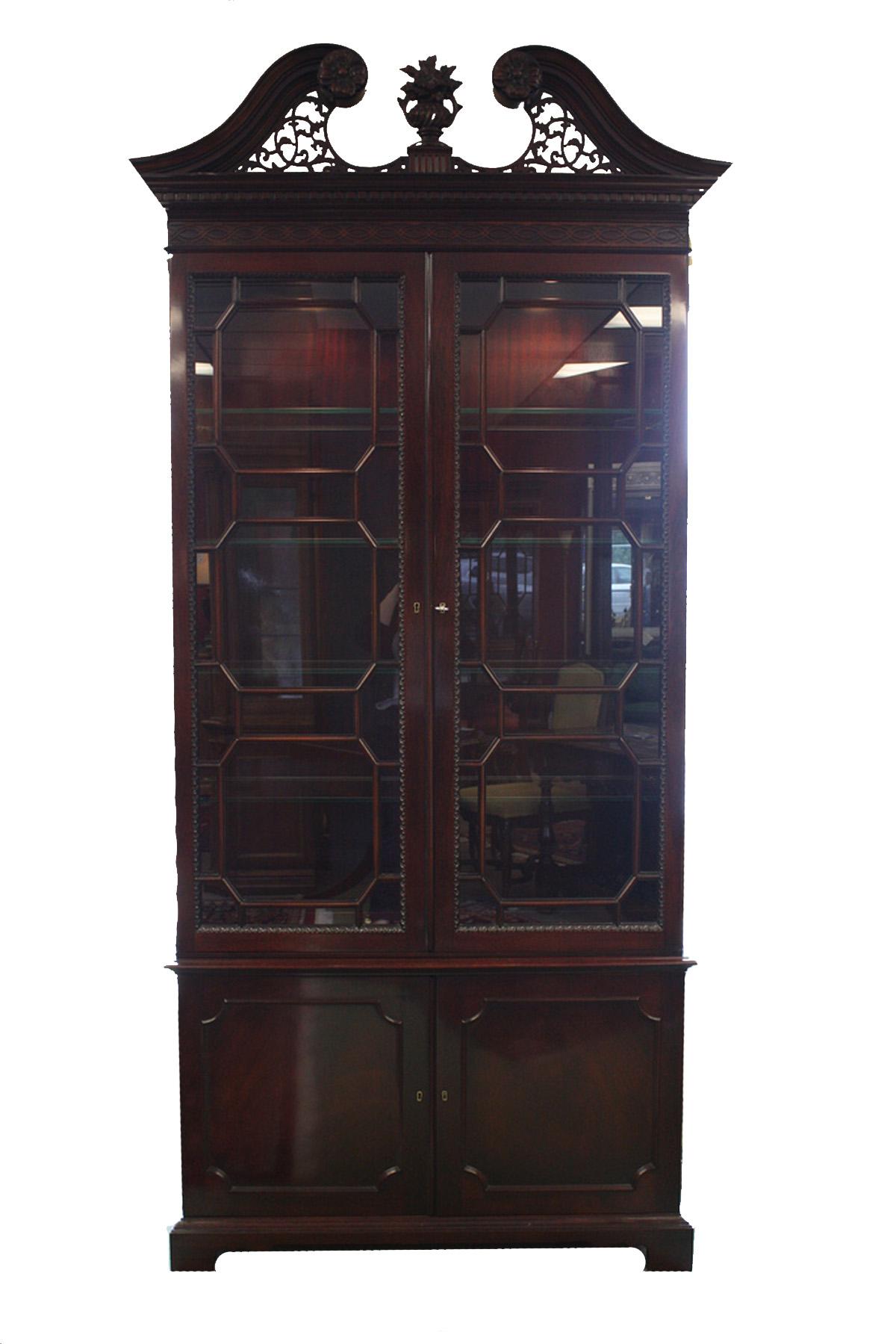 FCG mahogany cabinet