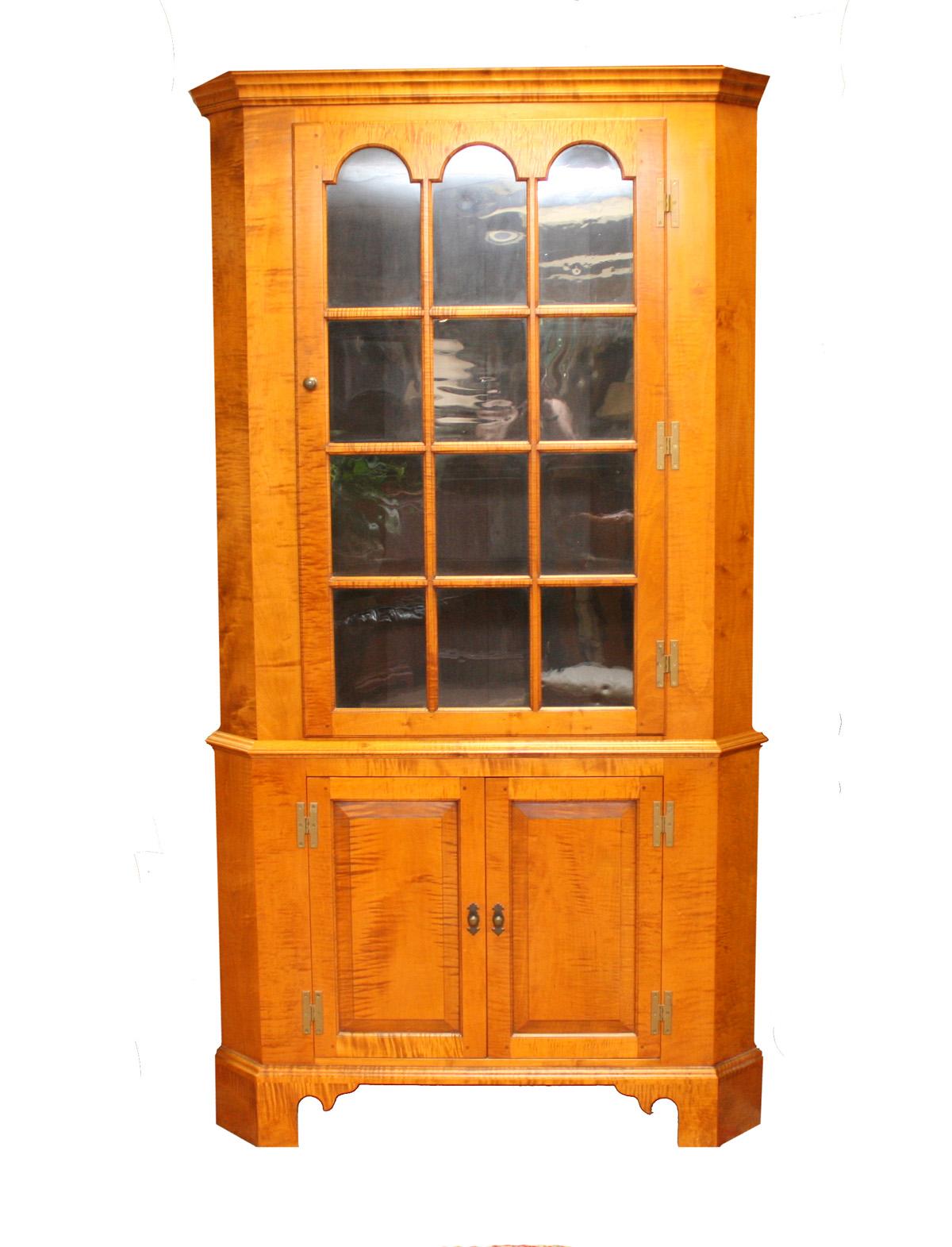 FCG Tiger Maple Cabinet