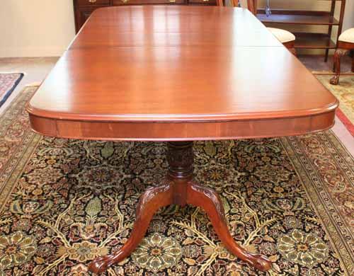 Solid Mahogany Dining Table