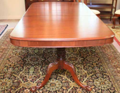 Solid Mahogany Dining Table