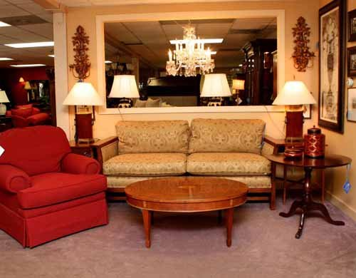 Stickley Sofa Room