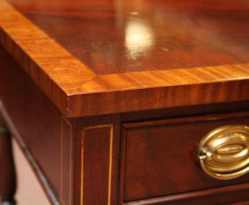 Banded table