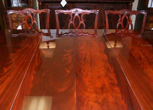 Mirror Finish Dining Table